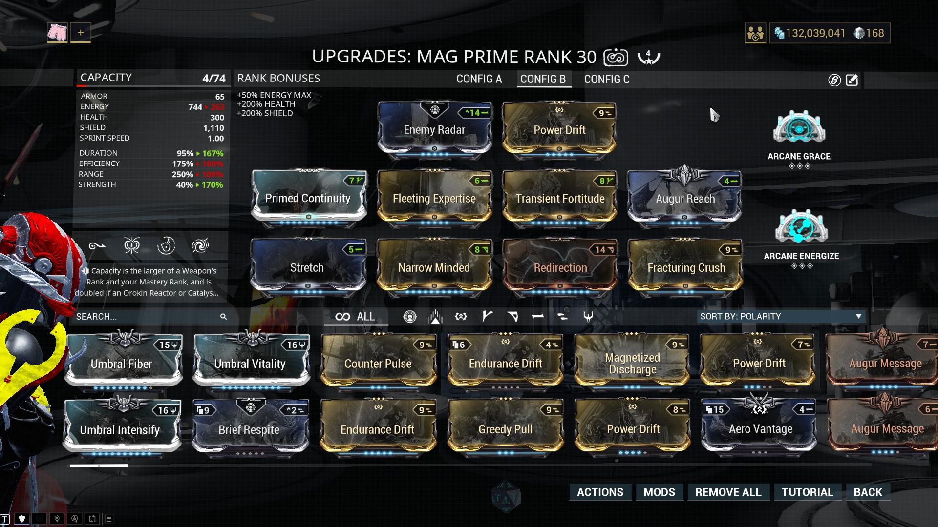 Mag Armor / Shield Depletion Build